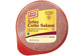OSCAR MAYER Cold Cuts Turkey Cotto Salami 16oz Well
