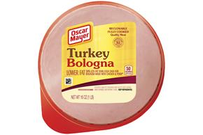 OSCAR MAYER Cold Cuts Lowfat Turkey Bologna 16oz Well