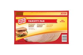 OSCAR MAYER Deli Thin Fat Free Turkey & Chicken Variety Pack 9oz Pack