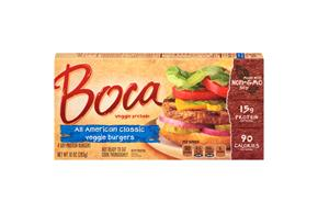 Boca All American Classic Burgers 4 Ct Box