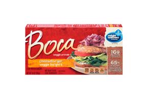 Boca Cheeseburger Veggie Burgers 4 Ct Box