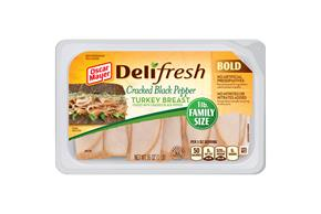 Oscar Mayer Deli Fresh Bold Cracked Black Pepper Turkey Breast 16Oz