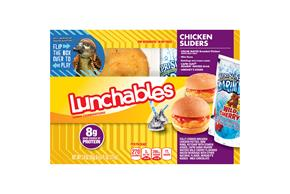 Lunchables Chicken Sliders Lunch Combination 3.0 Oz. Tray With Capri Sun(R) Roarin' Waters Drink 6.0