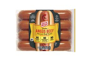 Oscar Mayer Jumbo Angus Beef Uncured Franks 15 Oz