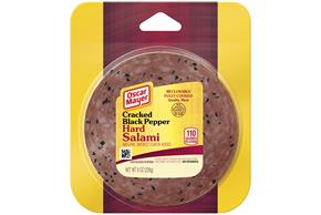 Oscar Mayer Salami Hard Cracked Black Pepper 8 Oz