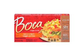 Boca Spicy Chik'n Vegan Patties 4 Ct Box