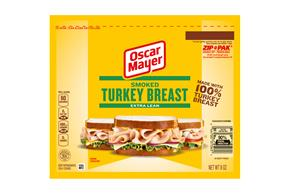 OSCAR MAYER Cold Cuts Smoked Turkey Breast 8oz Pack