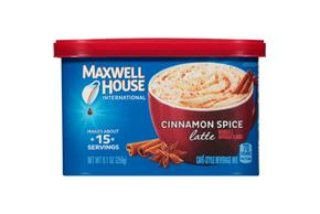 Maxwell House International Cinnamon Spice 9.1 oz Canister