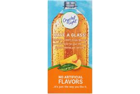 Crystal Light Peach-Mango Green Tea On the Go Drink Mix 10-0.08 oz. Packets