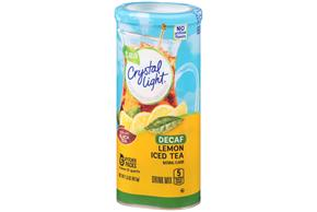 CRYSTAL LIGHT MULTISERVE Iced Tea Decaffienated 1.5 oz. Packet