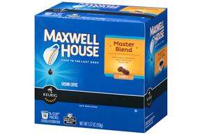 Maxwell House Master Blend Coffee K-Cup(R) Packs 18 ct Box