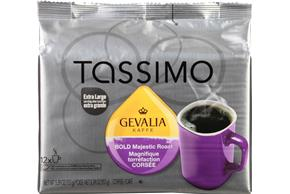 Tassimo Gevalia Bold Majestic Roast Coffee T Discs 12 ct Bag