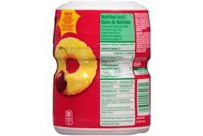 TANG POWDERED SOFT DRINK FRUIT PUNCH 18 oz Casnnister