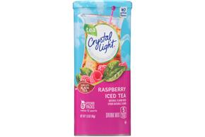 CRYSTAL LIGHT MULTISERVE Raspberry Tea  Sugar Free 1.6 oz. Packet