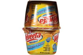 Kraft Velveeta Shells & Cheese Made with 2% Milk Cheese 4-2.19 oz. Microcups