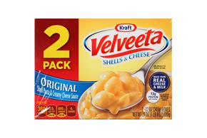 Kraft Velveeta Original Shells & Cheese 2-12 oz. Boxes
