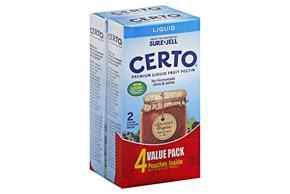 Certo 12 Oz Pectin-Crystal  Pectin     2 Multipack Inner Pack
