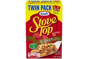 Kraft Stove Top Turkey Stuffing Mix 12 oz. Box