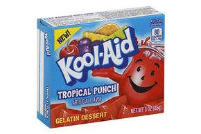 Kool-Aid Gelatin Tropical Punch 3Oz Box