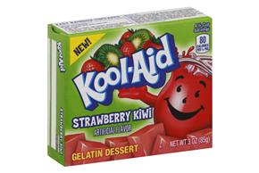 Kool-Aid Gelatin Strawberry Kiwi 3Oz Box