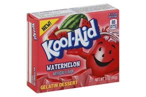 Kool-Aid Gelatin Watermelon 3Oz Box