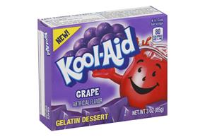 Kool-Aid Gelatin Grape 3Oz Box
