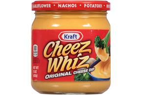Kraft Cheez Whiz Original Cheese Dip 15 Oz. Jar