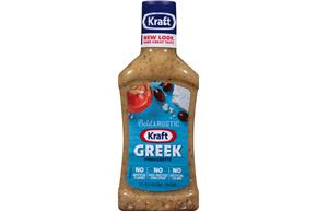 KRAFT Greek Vinaigarette Dressing 16 oz Bottle