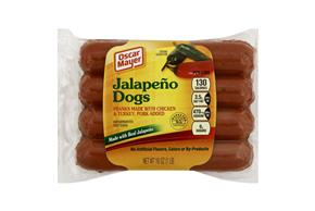 OSCAR MAYER Jalapeno Dogs 8 ct Pack