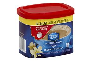 MAXWELL HOUSE International French Vanilla Café