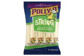 Kraft Natural Cheese Snacks Mozzarella Polly-O String Cheese 16 Ct Peg