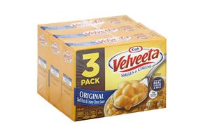 Kraft Velveeta Original Shells & Cheese 3-12 oz. Boxes