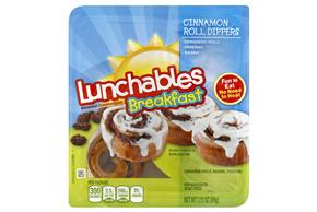 Oscar Mayer Lunchables Breakfast Cinnamon Roll Dippers Lunch Combination 3.15 oz. Tray