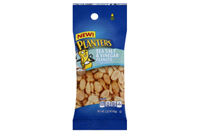 Planters Sea Salt & Vinegar Peanuts 10-2.25 oz. Bags