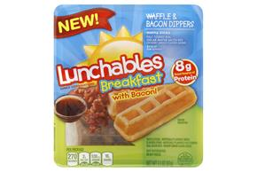 Lunchables Convenience Meals-Single Serve Waffle & Bacon 3.1 Oz Tray