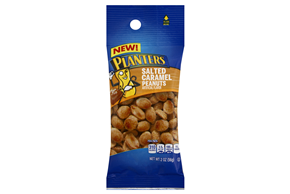 Planters Salted Caramel Peanuts 10-2 oz. Bags