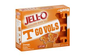 Jell-O Jigglers University Of Tennessee Mold Kit With Orange
