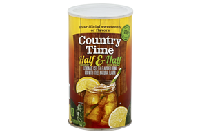 COUNTRY TIME Half Lemonade and Half Iced Tea Powdered Soft Drink 82.5 oz. Cannister