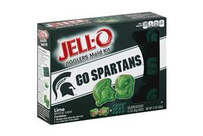 Jell-O Jigglers Michigan State University Mold Kit With Lime