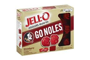 Jell-O Jigglers Florida State University Mold Kit With Strawberry