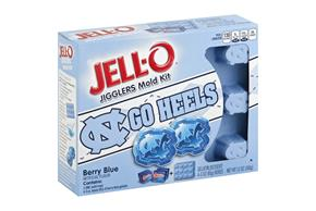 Jell-O Jigglers Unc Mold Kit With Berry Blue