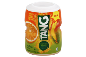TANG POWDERED SOFT DRINK ORANGE MANGO 20 oz Cannister