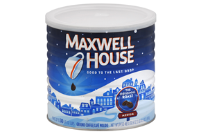 Maxwell House Original Roast Ground Coffee Roasted in the USA 30.6 oz. Canister