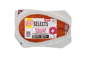 OSCAR MAYER Selects Italian Herb Uncured Pork Sausage 13oz Pack