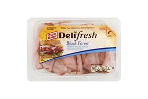 Oscar Mayer Deli Fresh Black Forest Ham 9Oz