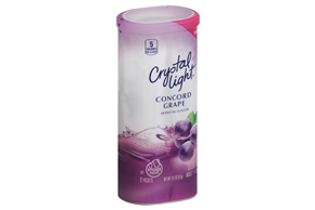 CRYSTAL LIGHT MULTISERVE Concord Grape 2.01 oz. Packet