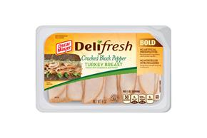 Oscar Mayer Deli Fresh Cracked Black Pepper Turkey 8Oz