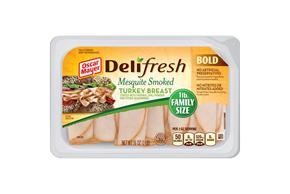 Oscar Mayer Deli Fresh Bold Mesquite Smoked Turkey Breast 16Oz