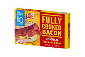 Oscar Mayer Mega Pack Fully Cooked Bacon 6.3Oz Pack