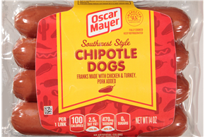 Oscar Mayer Southwest Style Chi 1743 on oscar mayer classic wieners nutrition
